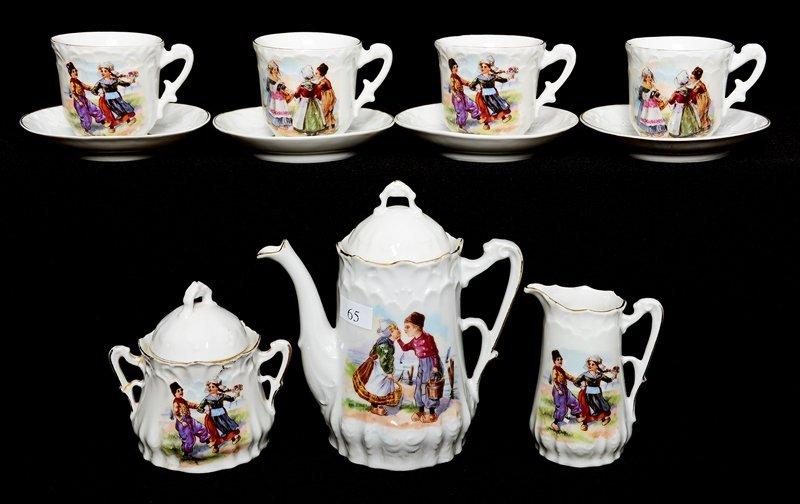 (11) PIECE CHILD'S TEA SET