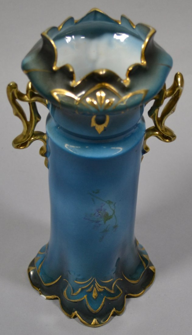 "9.75"" ROYAL VIENNA TWO-HANDLED VASE - 2"