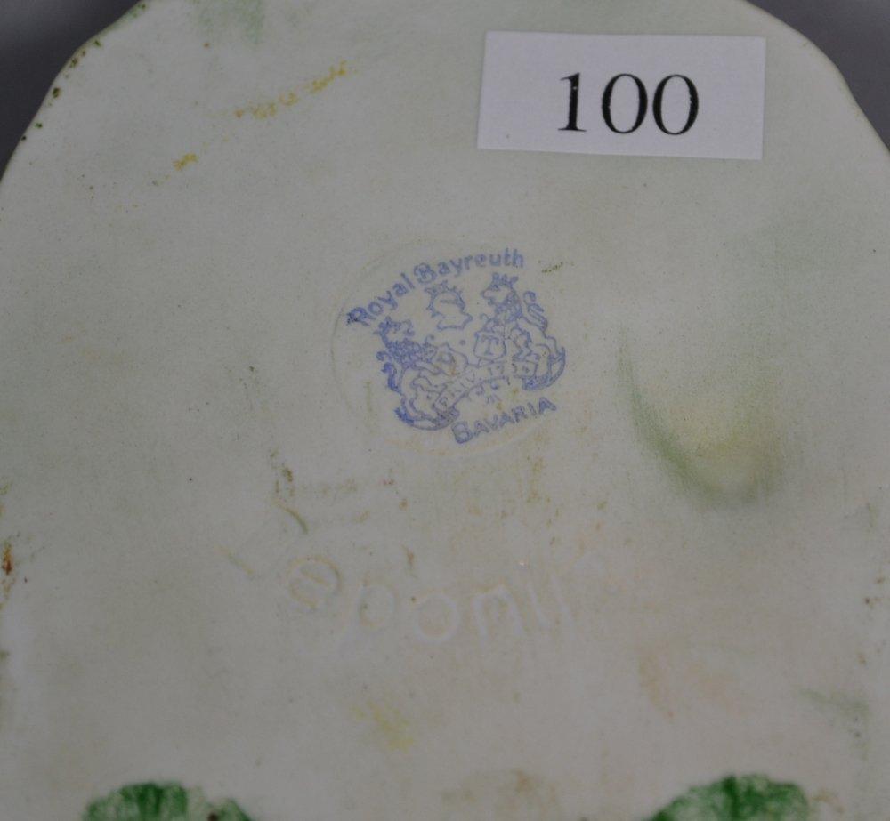 "5.2"" ROYAL BAYREUTH (BLUE MARK) FIGURAL SANTA CLAUS - 3"