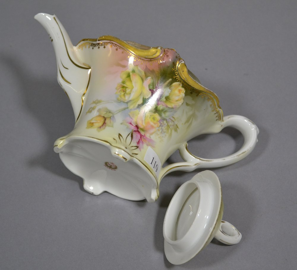 "5.5"" RSP TEA POT - 2"