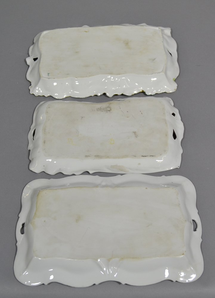 (5) PRUSSIA AND PRUSSIA STYLE DRESSER TRAYS - 3