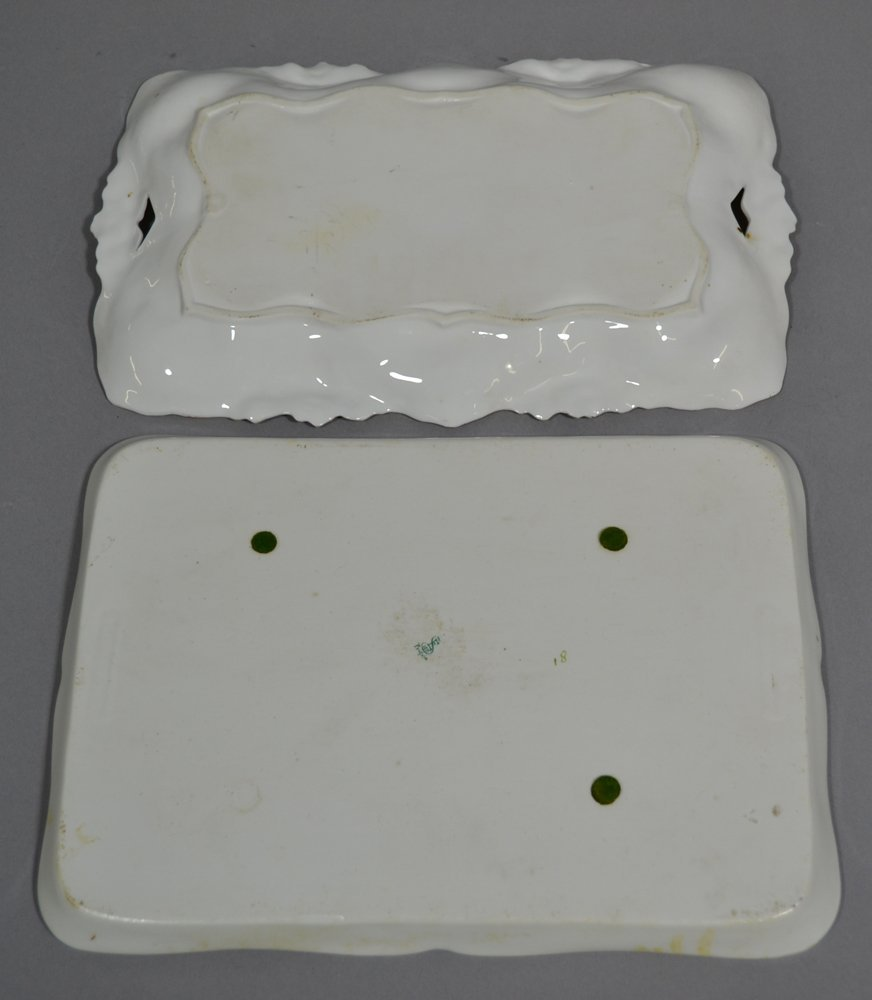 (5) PRUSSIA AND PRUSSIA STYLE DRESSER TRAYS - 5