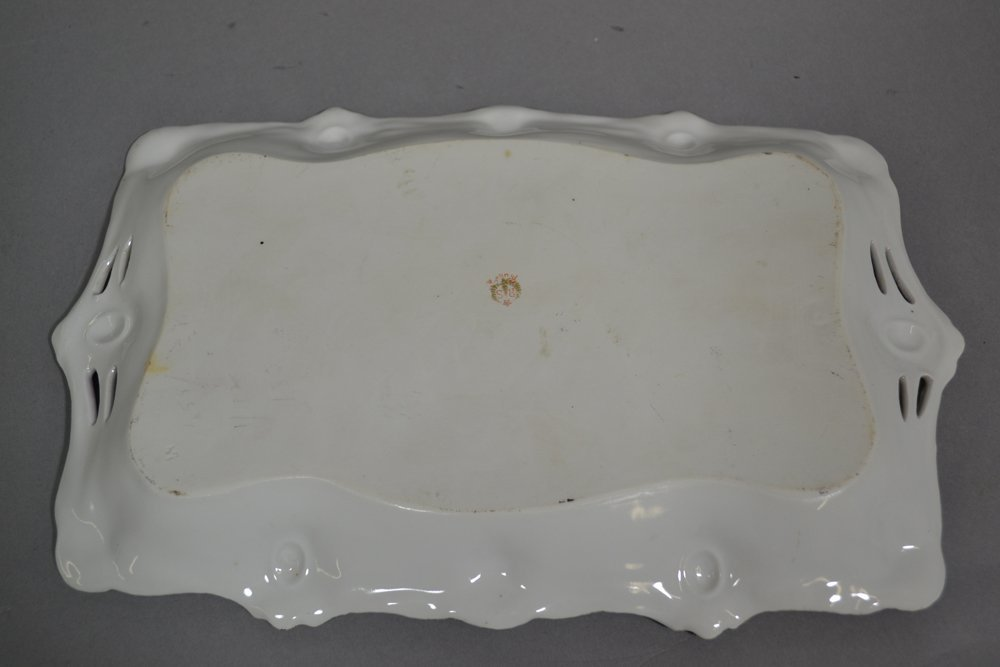 """11.75"""" RSP RIBBON AND JEWEL MOLD DRESSER TRAY - 2"""