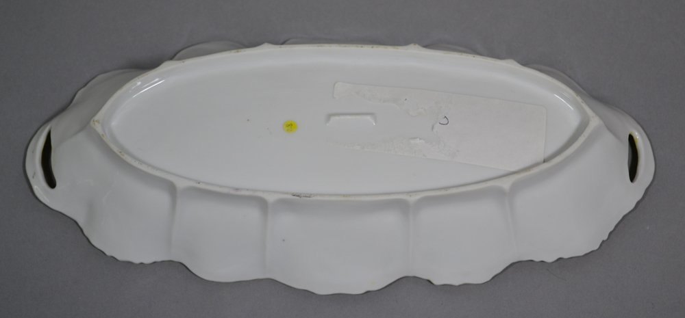 "12"" UNMARKED R.S.PRUSSIA CELERY TRAY - 2"