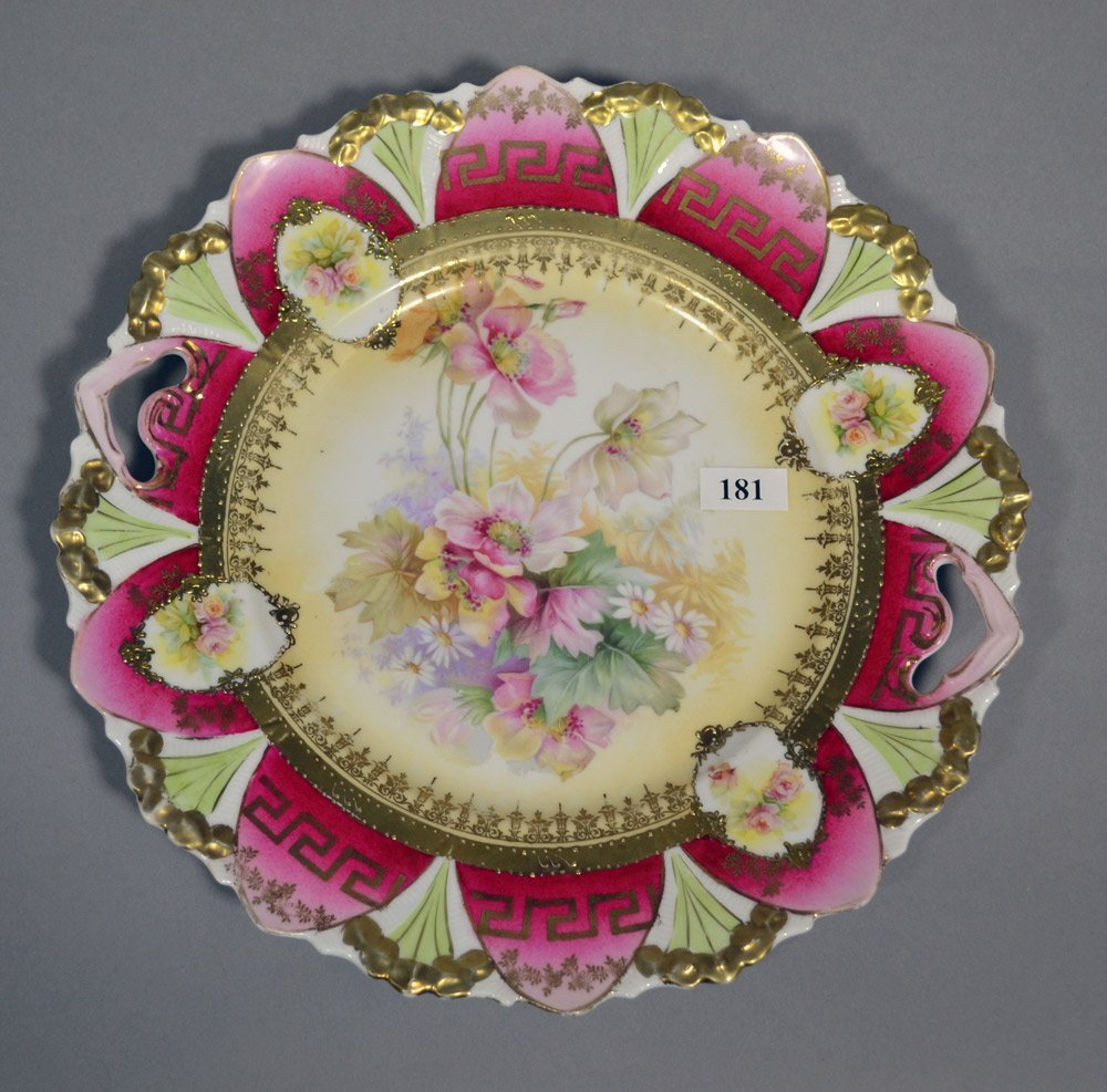 (3) R.S.PRUSSIA STYLE PLATES INCLUDING - 2