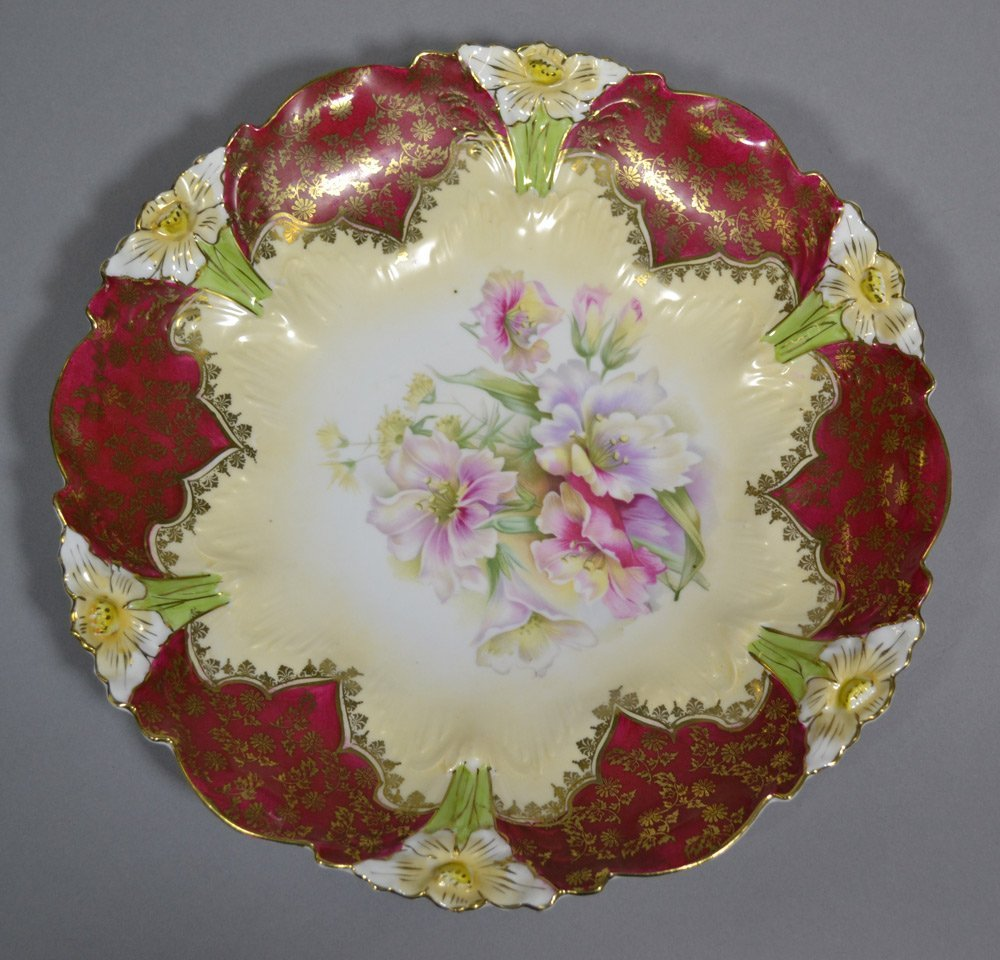 (3) R.S.PRUSSIA STYLE PLATES INCLUDING - 3