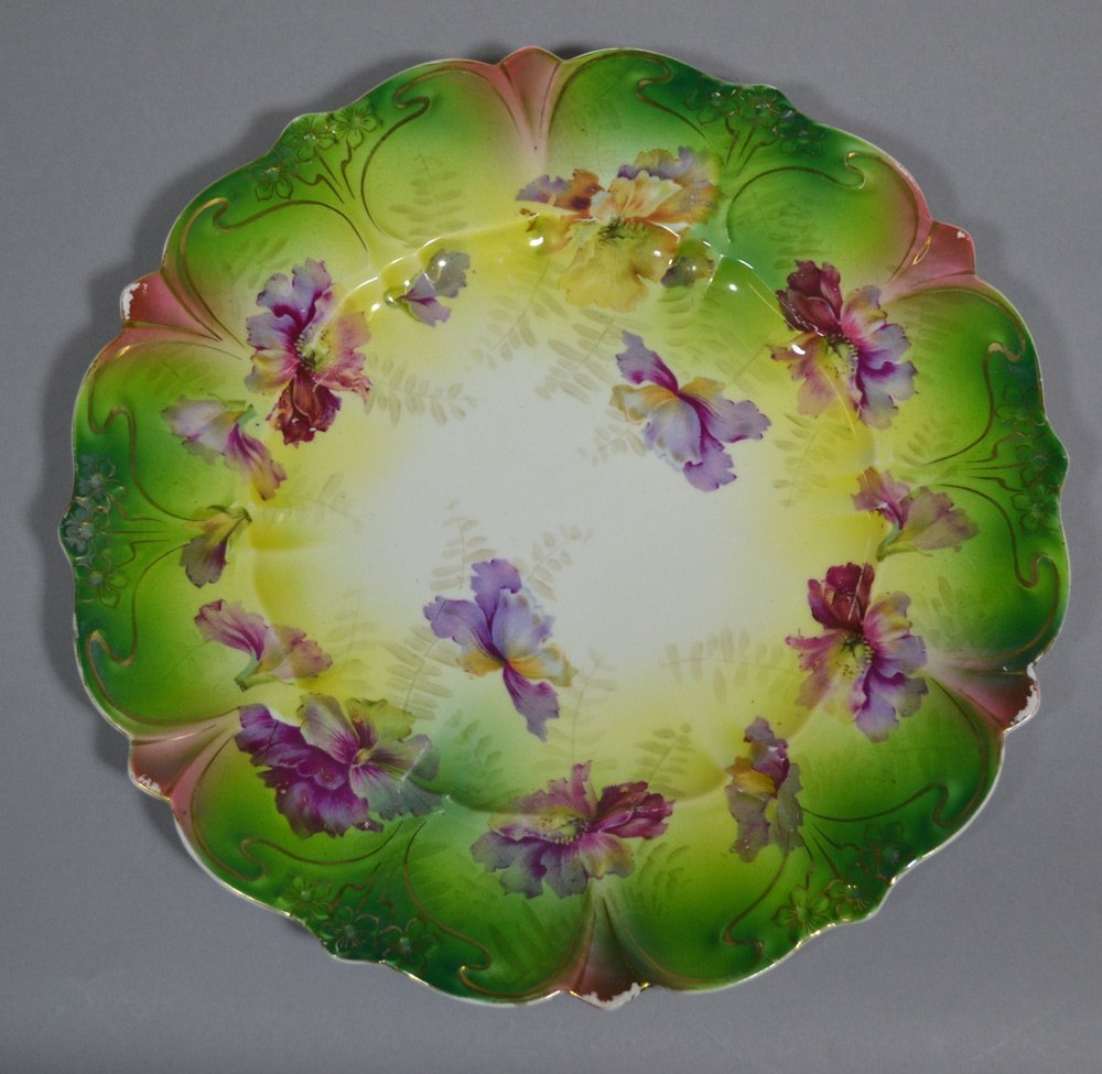 (3) R.S.PRUSSIA STYLE PLATES INCLUDING - 4