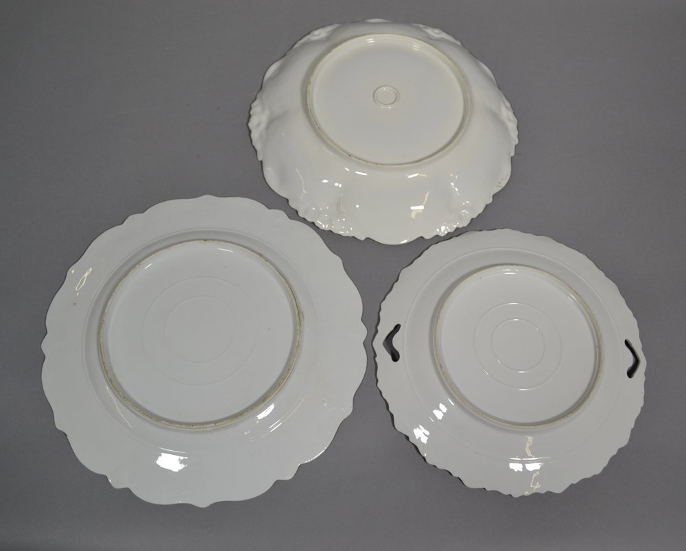 (3) R.S.PRUSSIA STYLE PLATES INCLUDING - 5