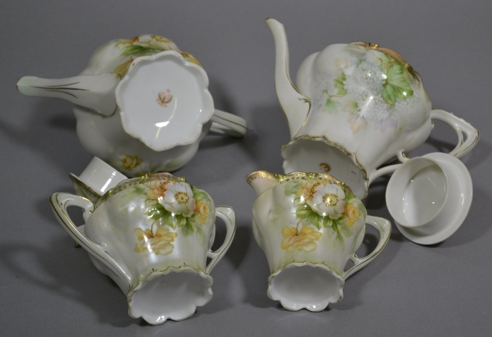 (4) R.S.PRUSSIA TEA SET ITEMS INCLUDING - 2