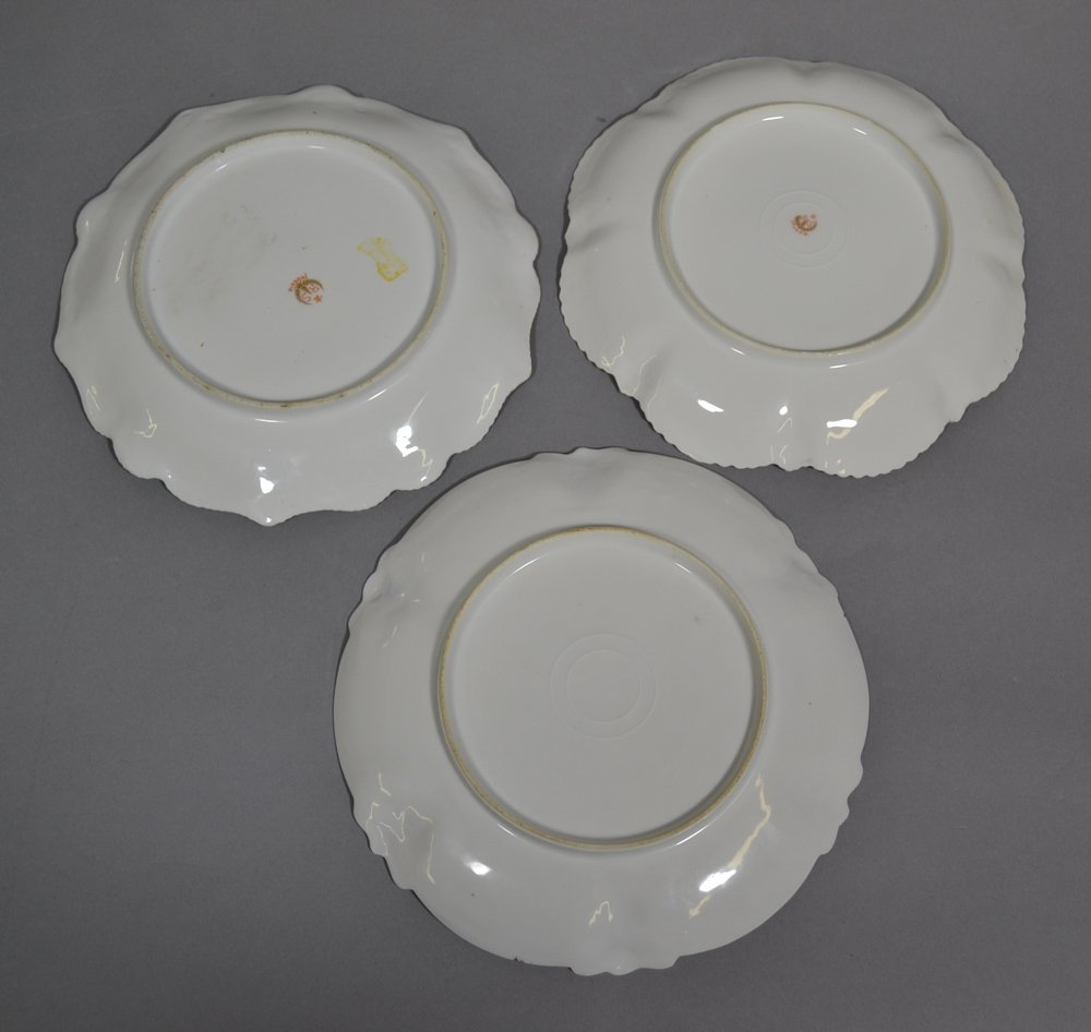 "(3) 8.5"" RSP SWAN DECOR PLATES INCLUDING - 5"