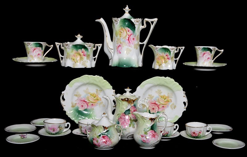 (2) CHILDREN'S TEA SETS
