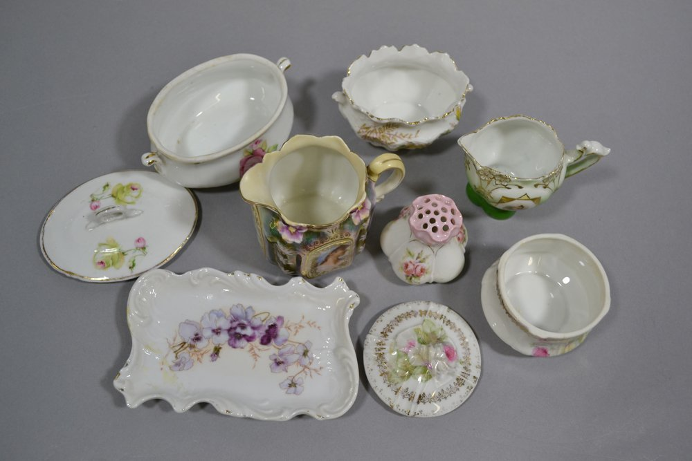 BOX LOT OF 16 MISC. PRUSSIA AND PRUSSIA STYLE ITEMS - 2