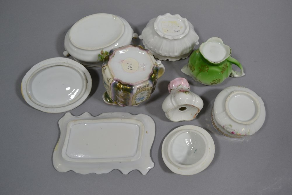 BOX LOT OF 16 MISC. PRUSSIA AND PRUSSIA STYLE ITEMS - 3