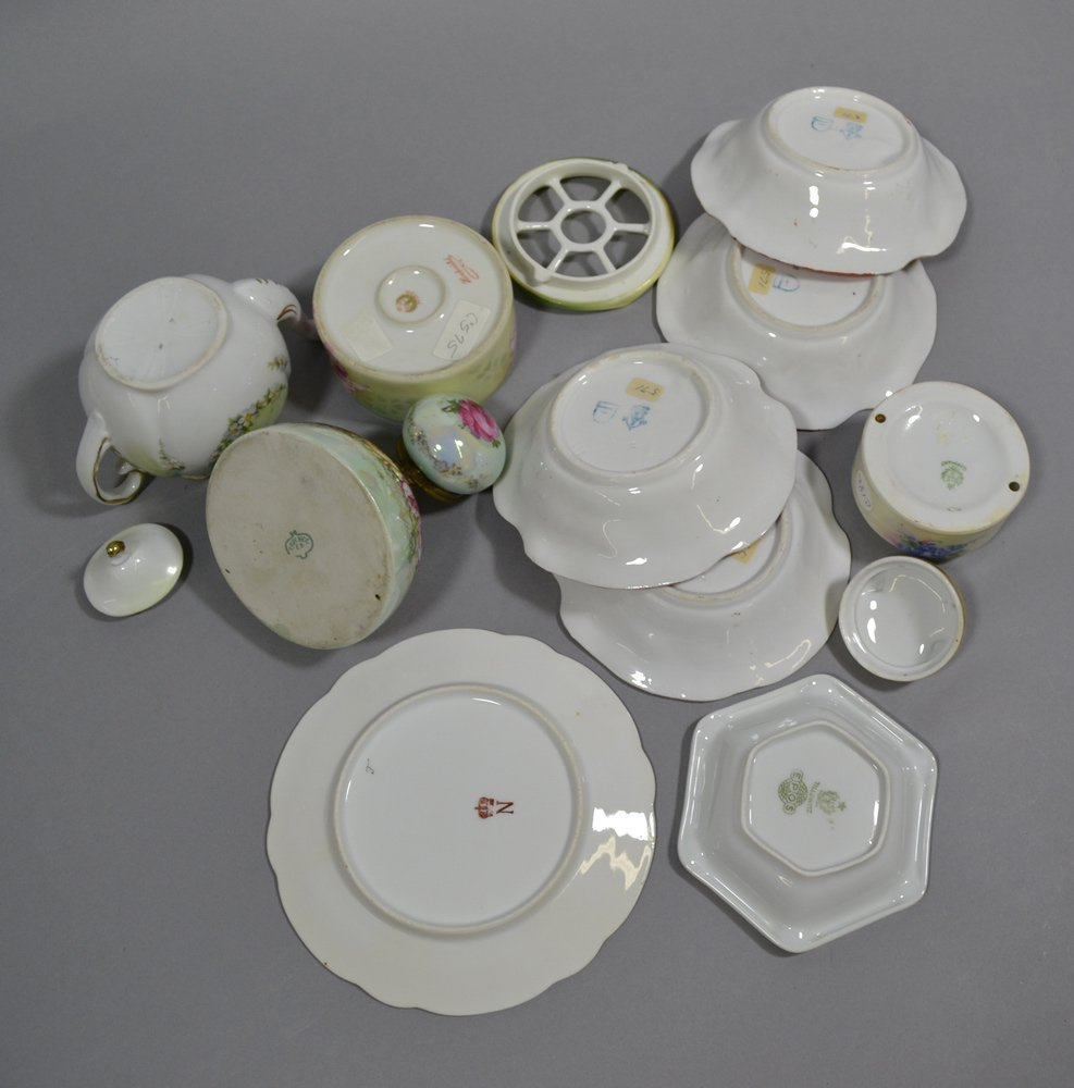 BOX LOT OF 16 MISC. PRUSSIA AND PRUSSIA STYLE ITEMS - 5