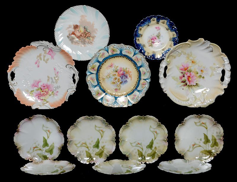 (12) RS PRUSSIA AND PRUSSIA STYLE PLATES