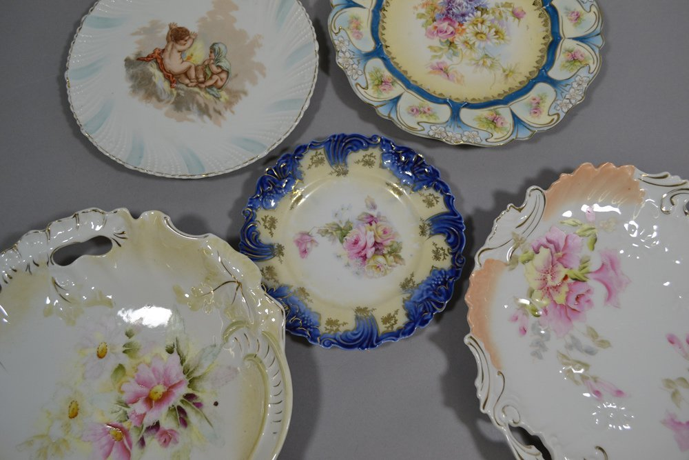 (12) RS PRUSSIA AND PRUSSIA STYLE PLATES - 2