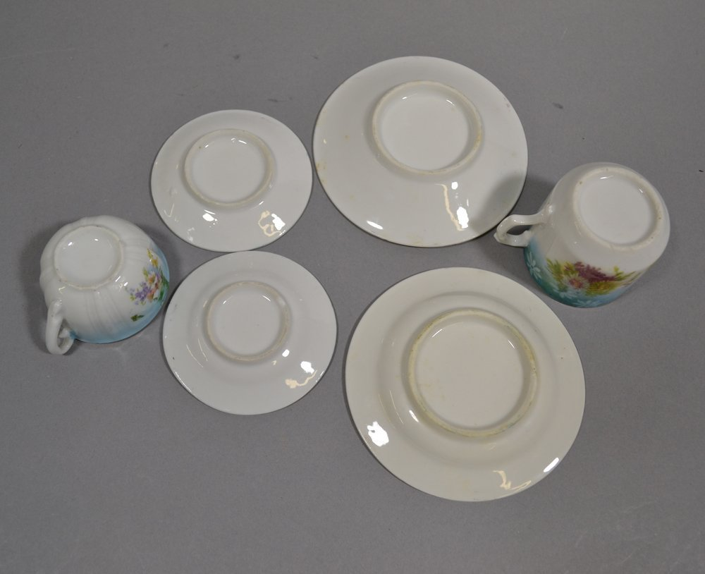 (2) RS PRUSSIA CHILD TEA SETS - 6