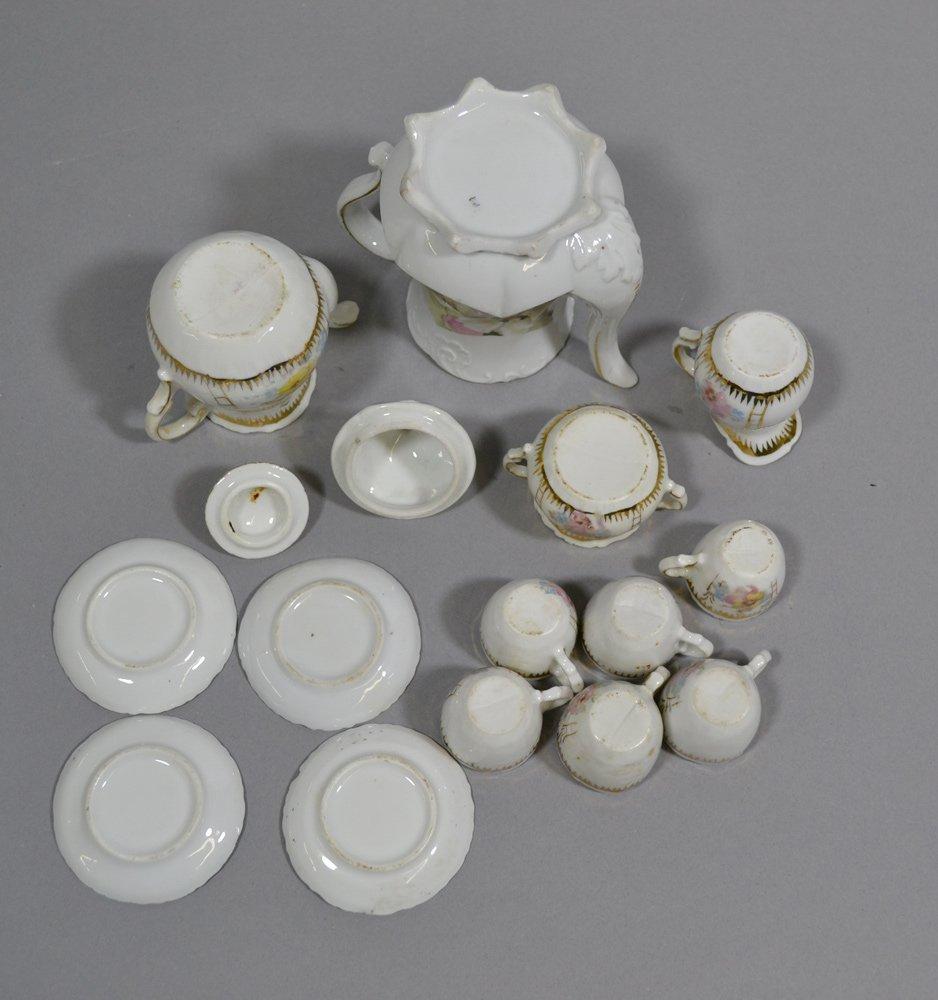 BOX LOT OF (3) CHILD TEA SETS - 3