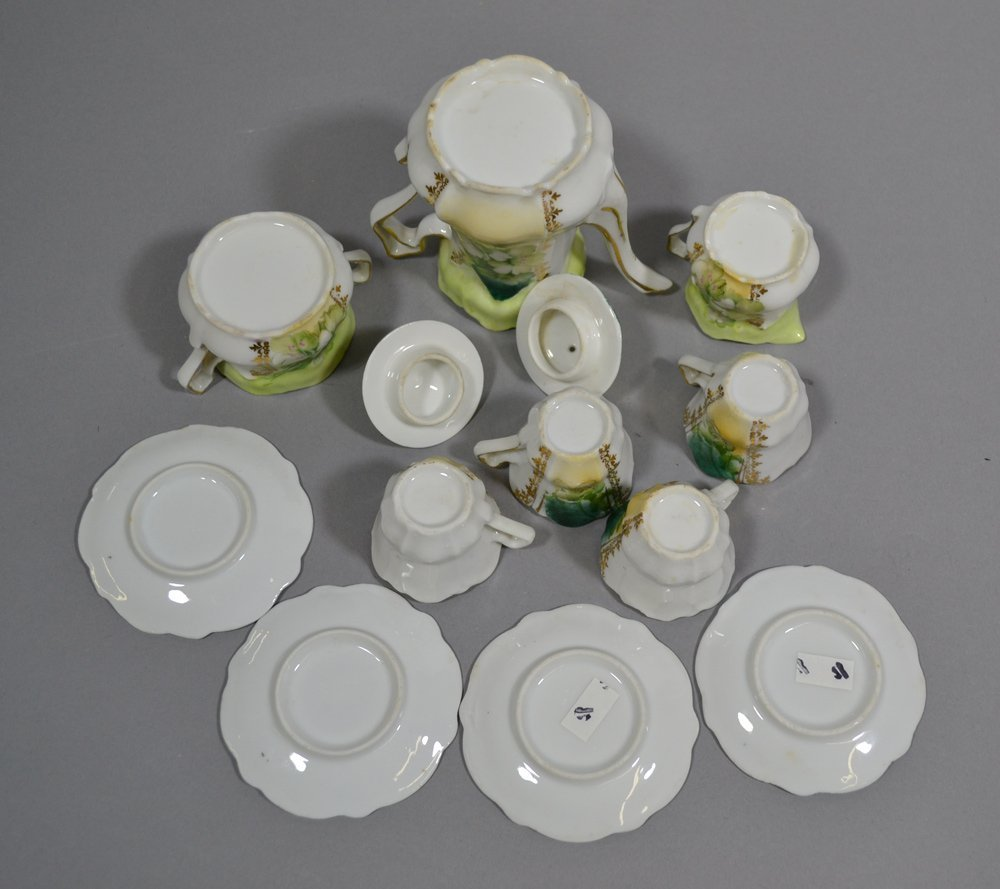 BOX LOT OF (3) CHILD TEA SETS - 5