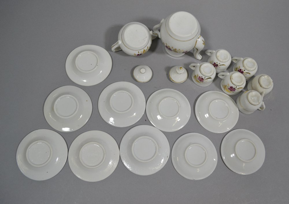 BOX LOT OF (3) CHILD TEA SETS - 7