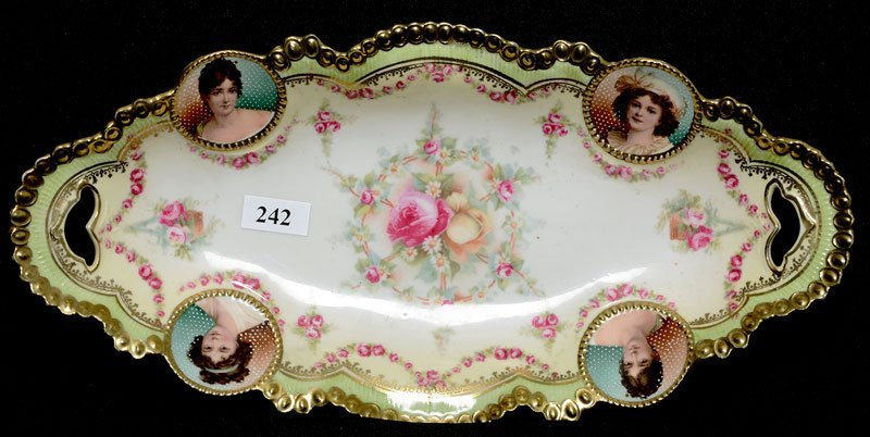 """12.25"""" RSP MEDALLION MOLD CELERY TRAY"""