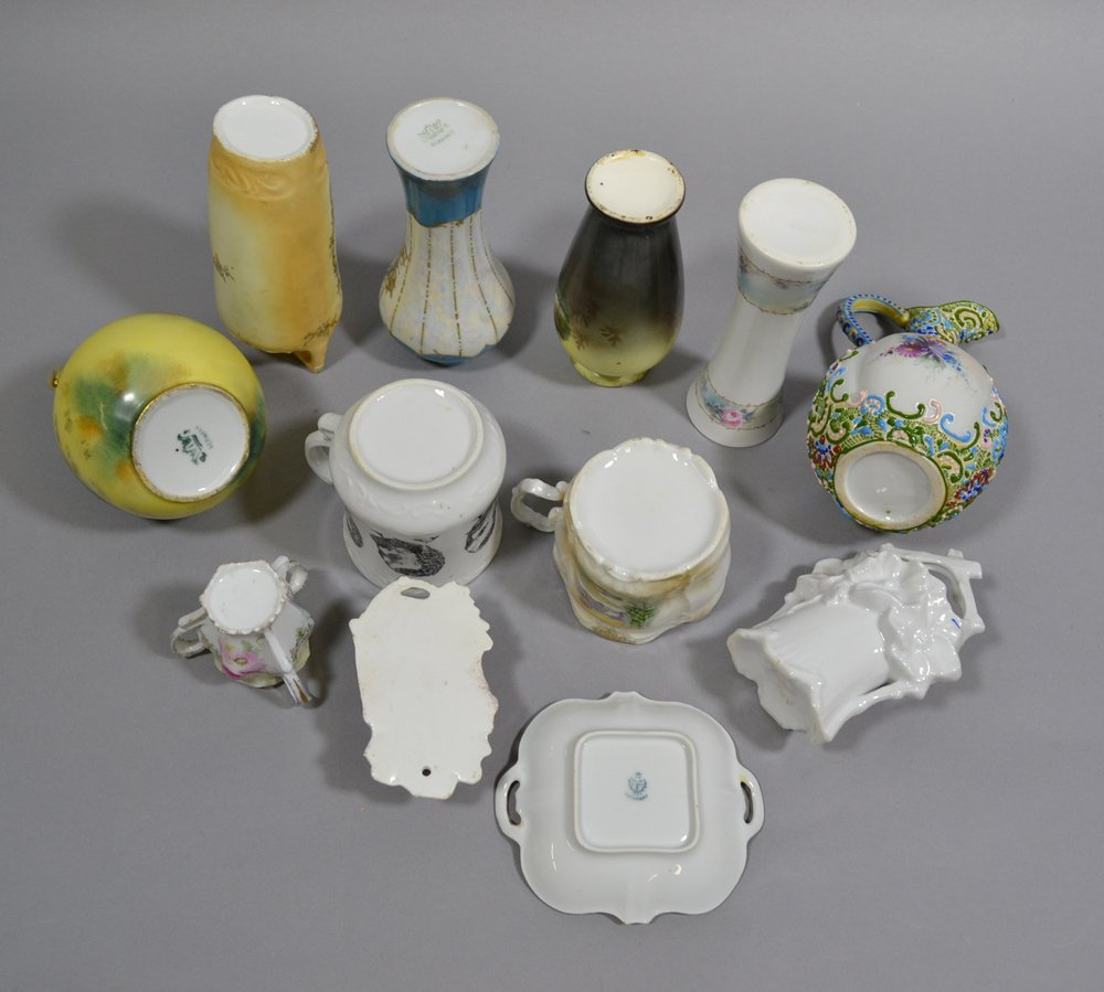 BOX LOT OF 12 MISC. PRUSSIA AND PRUSSIA STYLE ITEMS - 2