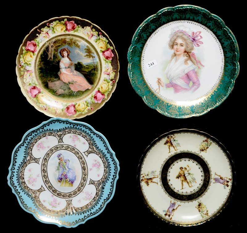 (4) PRUSSIA STYLE PLATES