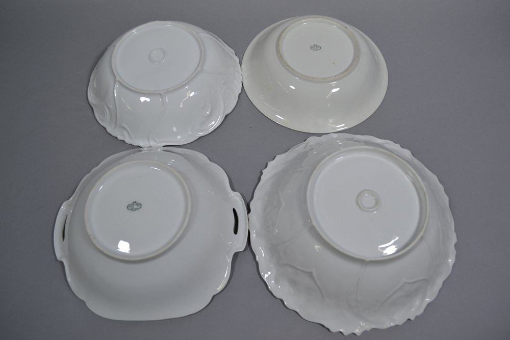 (4) PRUSSIA AND PRUSSIA STYLE BOWLS - 2