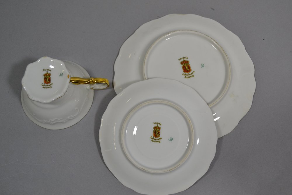 (28) ASSORTED OSCAR SCHLEGELMILCH AND BAVARIA ITEMS - 5