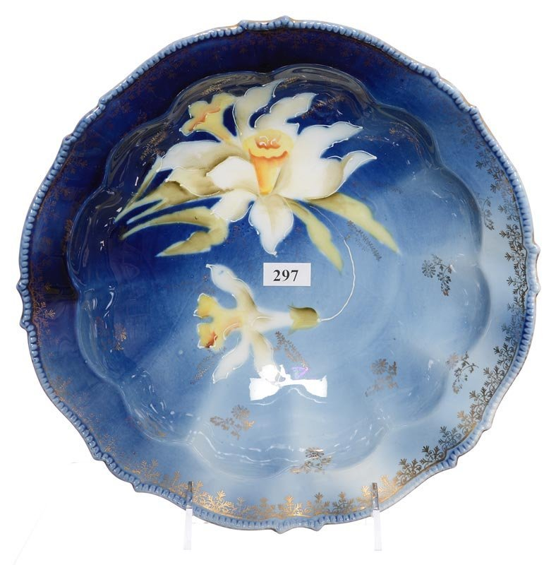 """10"""" UNMARKED R.S.PRUSSIA BOWL"""
