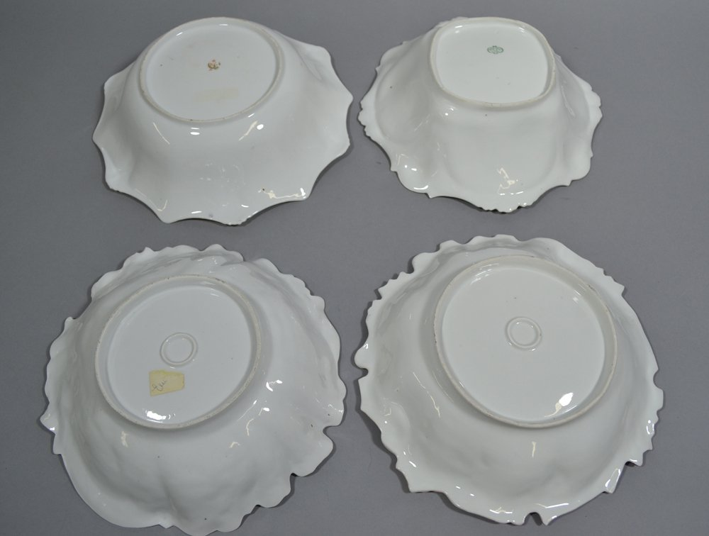 (6) ASSORTED PRUSSIA AND PRUSSIA STYLE BOWLS INCLUDING - 2