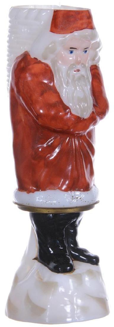 "RARE 9.25"" FIGURAL MINIATURE SANTA CLAUS LAMP"