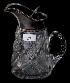 "SYRUP PITCHER - 5.5"" - ABCG"