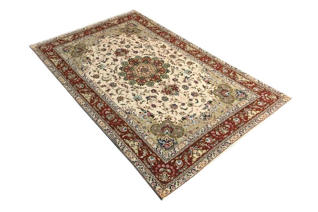 Persian Silk and Wool Tabriz