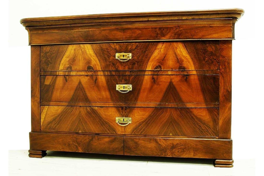 Figured Mahogany Dresser