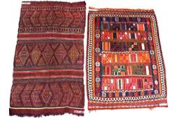 2 Persian Tribal Rugs