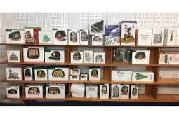 Collection of Department 56 Holiday Collectables