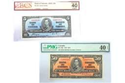 1937 banknotes