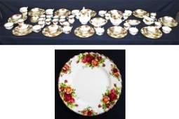 109 pc Royal Albert Dinner Set