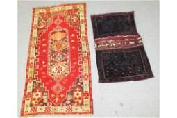 2 Woven Tribal Objects