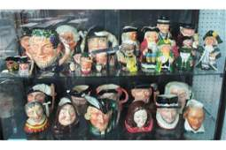 Character/Toby Jug Collection