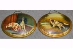 Oval Oil Paintings