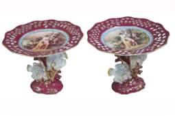 Porcelain Comports Retier