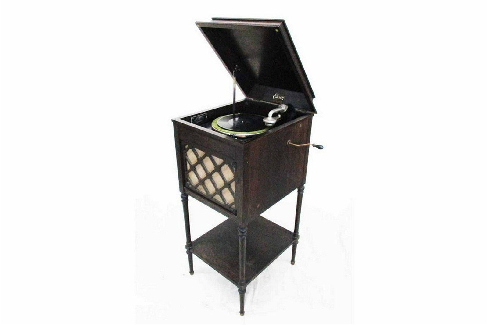 Edison Floor Model Phonograph Model A100