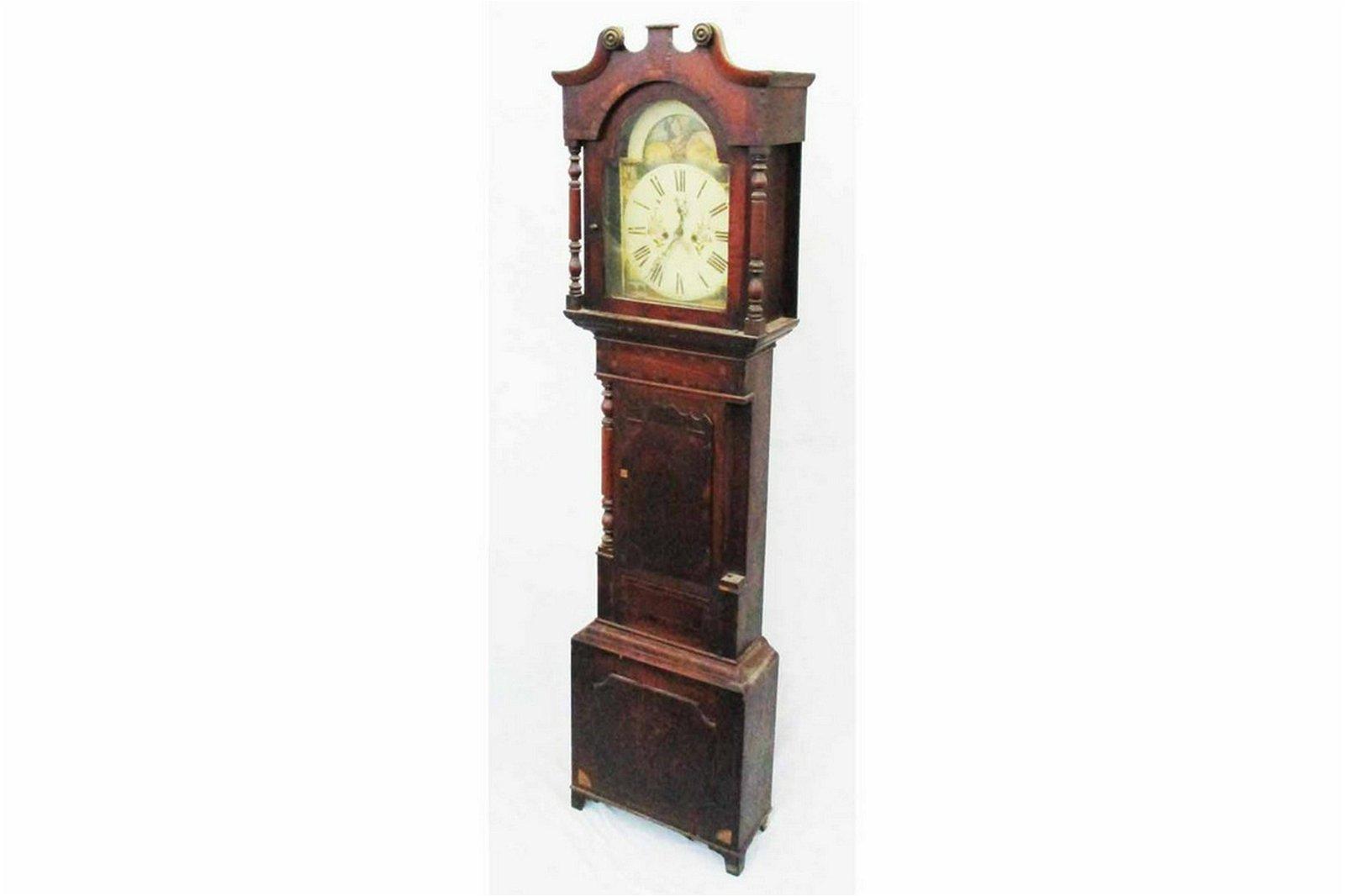 Antique English Long Case Clock