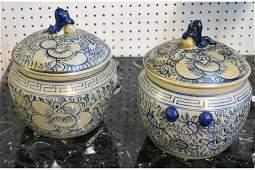 Pair of Chinese Jars