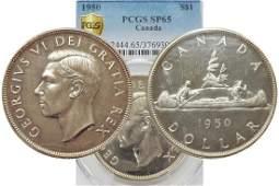 1950 silver dollar Specimen