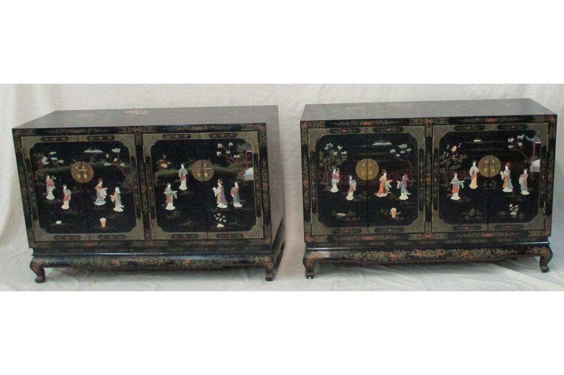 Pair Chinese Storage Cabinets