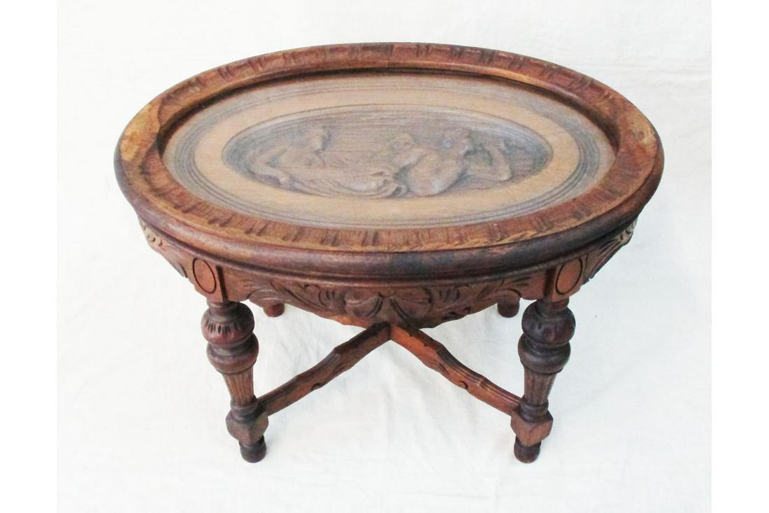 Antique Cocktail Table