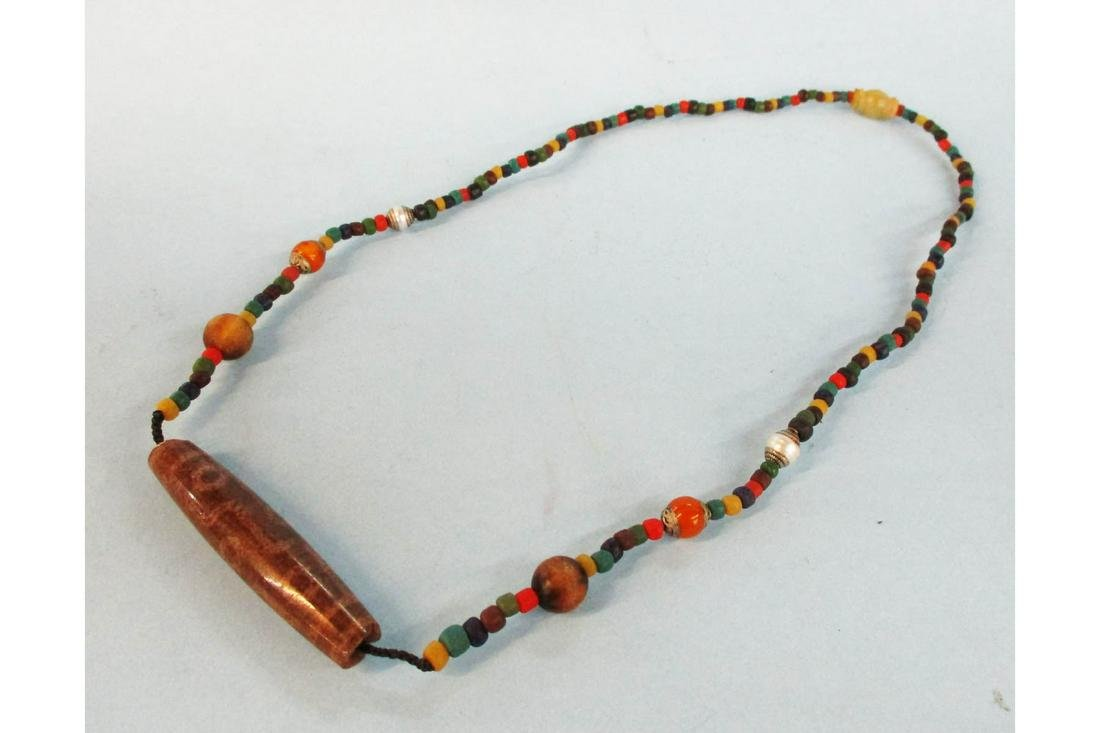 Sino Tibetan Bead Necklace